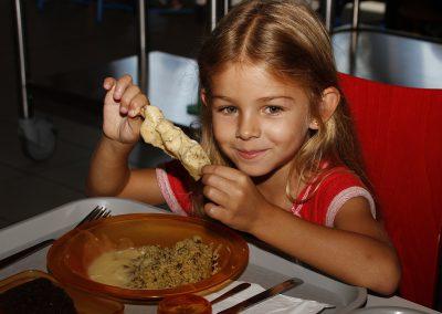 Menu Fête de la Gastronomie au Restaurant Scolaire de Montescot